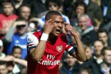 Arsenal defender Kieran Gibbs out for three weeks