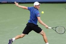David Goffin upsets Jurgen Melzer in first round at Winston-Salem