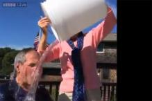 Watch: George W Bush takes the Ice Bucket Challenge, dares Bill Clinton