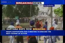 Kurukshetra: Police lathicharge Haryana SGPC members trying to take control of a gurudwara