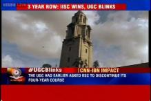 UGC allows IISc Bangalore to continue with four-year undergraduate course with some changes