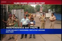 10,000 security personnel to guard Delhi on Independence Day