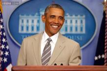 White House digs Obama's 'suit'-able tan