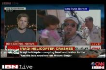 Iraqi helicopter crashes with 25 Yazidis and 2 journalists on board