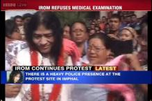 Irom Sharmila likely to be detained today, heavy police presence at her protest site