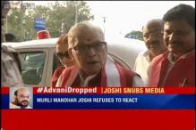 After being dropped from BJP Parliamentary Board, a visibly upset MM Joshi avoids media