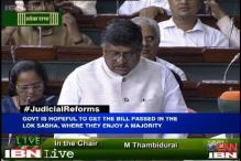 Voting on Judicial Appointments Bill, Constitutional Amendment Bill in Lok Sabha today