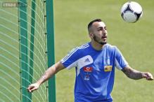 Fulham striker Kostas Mitroglou set to re-join Olympiakos