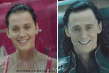 Are Katy Perry and Loki the same person? Startling photos show the singer looks like a mirror image of Tom Hiddleston