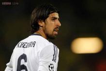 Sami Khedira not leaving, says Carlo Ancelotti