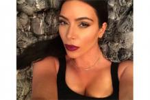 Striking a pose: Kim Kardashian West will release a book of her selfies titled 'Selfish', in April 2015