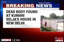 Body of a man found at Congress leader Kumari Selja's residence in Delhi