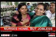 Kochi: Indian nurses return from Libya to an emotional reunion with their families