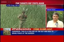 Congress member Manish Tewari slams government on ceasefire violation