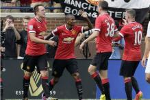 Manchester United beat Real Madrid, Manchester City lose to Olympiakos