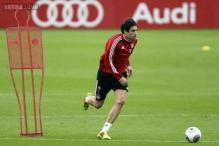 Bayern Munich's Javi Martinez out for rest of the year
