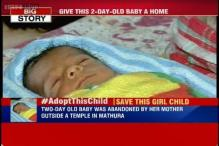 CNN-IBN Campaign: 2-day-old baby abandoned for being a girl child, help her find a home