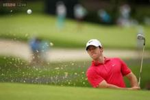 McIlroy gives himself a shot with some Barclays practice