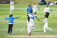 India men struggle but women beat England by 6 wickets in one-off Test