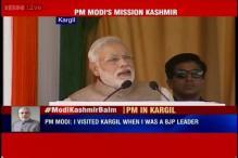 Patriotism of people of Kargil inspires people of India, says PM Narendra Modi