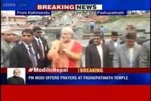 PM Narendra Modi offers prayers at Kathmandu's Pashupatinath temple
