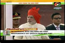 PM Narendra Modi addresses nation on Independence Day: As it happened