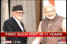 Modi to visit Nepal for 2 days, 1st bilateral meet by PM in 17 years