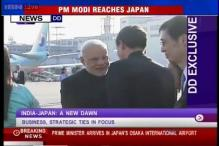 PM Narendra Modi reaches Japan to hold bilateral talks with Japanese counterpart Shinzo Abe