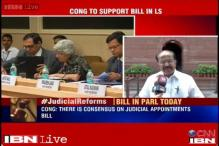 Congress will support Judicial Appointments Bill: Moily