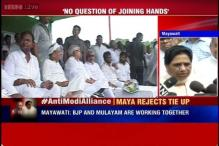 Maya refuses to form alliance as Lalu, Nitish, Mulayam agree to work as a team to defeat BJP