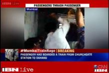 Caught on camera: Group of people harass, beat up a local train passenger in Mumbai
