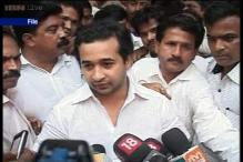 Will take Sena chief 'head on' if he contents election: Nitesh Rane