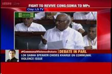 Congress creates uproar over Communal Violence Bill in Lok Sabha, debate likely at 3 PM