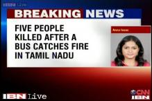 Tamil Nadu: 5 people from West Bengal dead as bus catches fire in Ramanathapuram