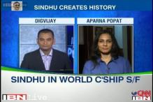 Sindhu enters World Championships semis, bronze assured