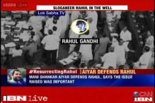Congress defends Rahul Gandhi, Aiyar flays Jaitley for allegations of internal rebellion