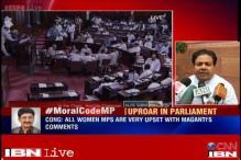 Uproar in Rajya Sabha over TDP MP Murli Mohan Maganti's sexist remarks