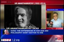 Ramchandra Guha pays tribute to UR Anathamurthy
