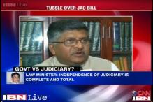 Independence ti judiciary is our priority: Ravi Shankar Prasad