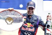 Red Bull's Ricciardo beats Rosberg to win Belgian Grand Prix 2014