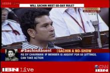 MPs question Sachin, Rekha's absence from Rajya Sabha, Kurien says no action for now