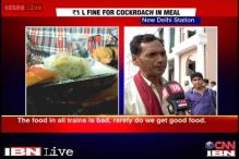 Watch: Passengers complain of bad food in trains