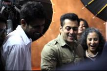 Snapshot: Salman Khan shoots for 'Being Human', shares photos on Twitter