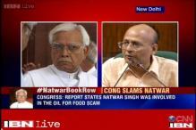 Abhishek Manu Singhvi: Congress slams Natwar Singh