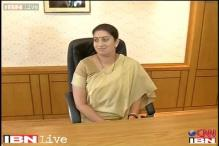 Smriti Irani got a Yale University 'certificate' for a leadership programme for MPs: HRD Ministry