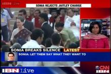 Sonia Gandhi brushes aside Arun Jaitley's allegations of rebellion in Congress