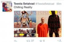 Setalvad earns social media wrath after tweeting picture of goddess Kali with ISIS terrorist