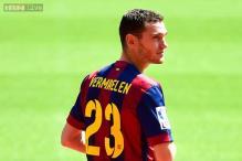 Thomas Vermaelen starts Barcelona stint with injury