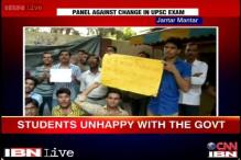 UPSC CSAT row: Police removes NSUI members protesting outside Rajnath Singh's residence