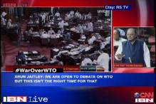 Opposition creates ruckus over government's tough stance at WTO